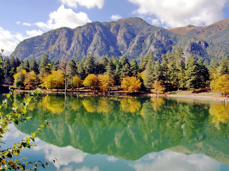 Озеро Кара-кель Теберда