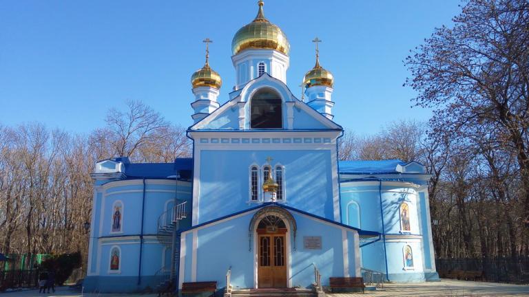 храм Успения Божьей Матери Ставрополь
