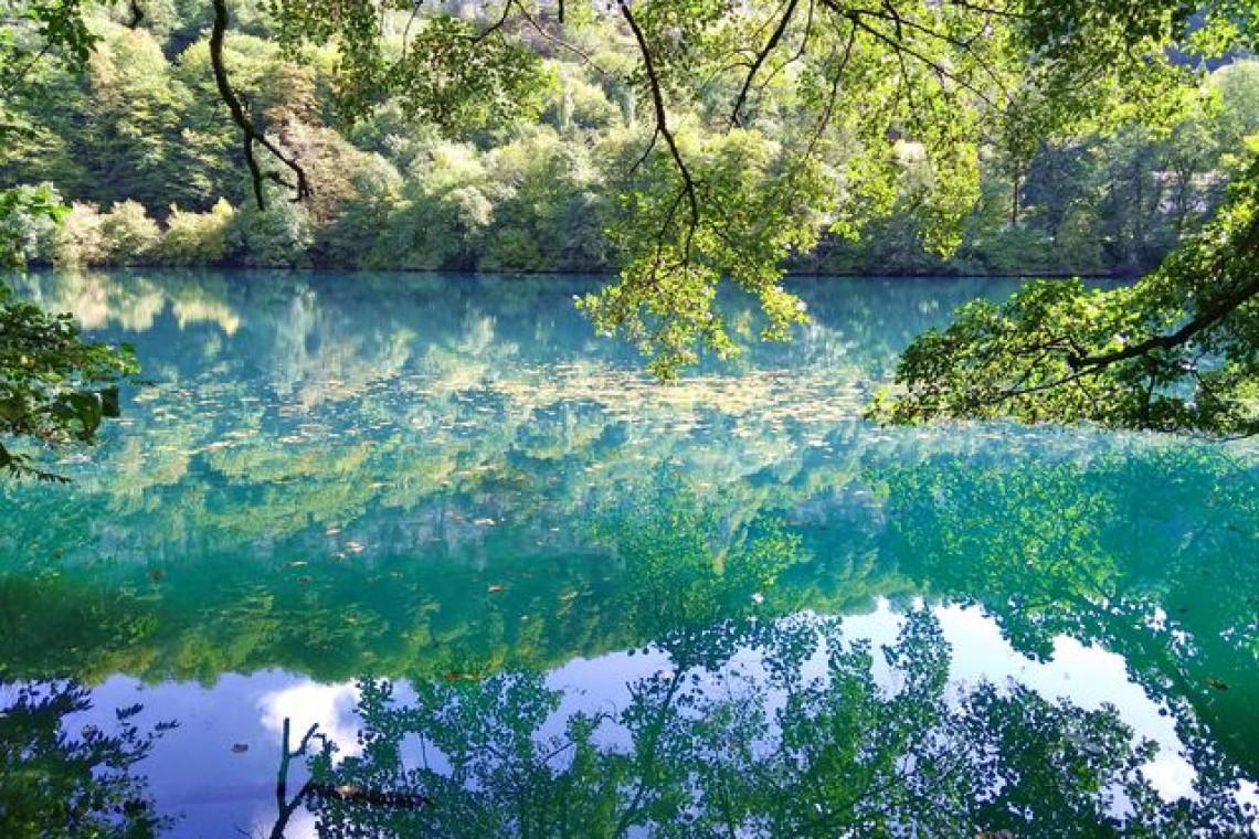 Голубое озеро Церик-Кель