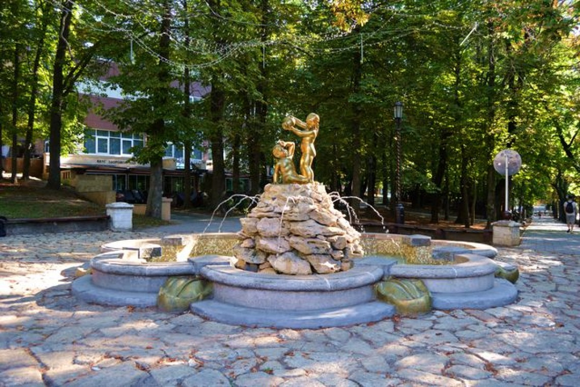 фонтан Ставрополь